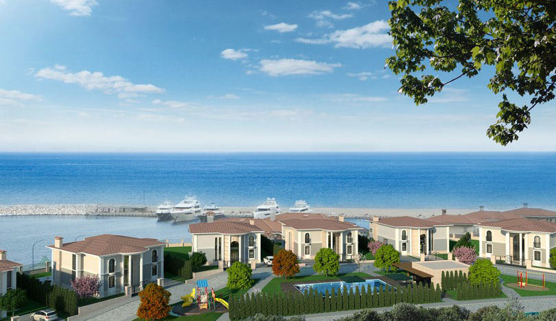 villas sale installment Turkey